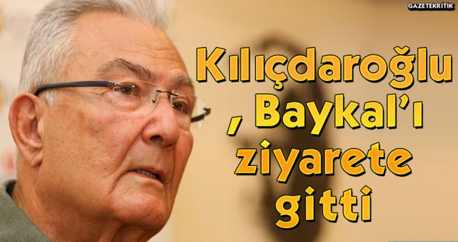 Kılıçdaroğlu, Baykal'ı ziyarete gitti