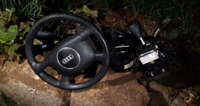 Tamir için bıraktı, arabası parçalanıp satıldı!