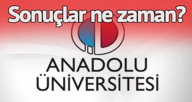 AÖF sonuçları açıklandı mı? Anadolu Üniversitesi AÖF sonuçlarını ne zaman açıklayacak? Bekleyiş sürüyor…
