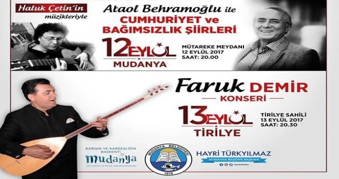 Barışın ve Kardeşliğin Başkenti Mudanya Belediyesi olarak kurtuluş günlerimizi kutluyoruz