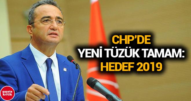 CHP'de yeni tüzük tamam: Hedef 2019
