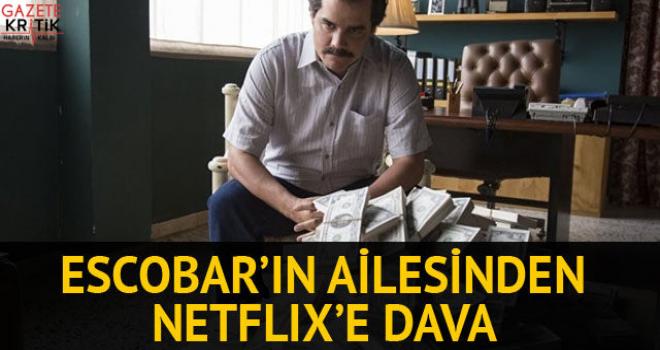 Pablo Escobar ailesinden Netflix'e dava