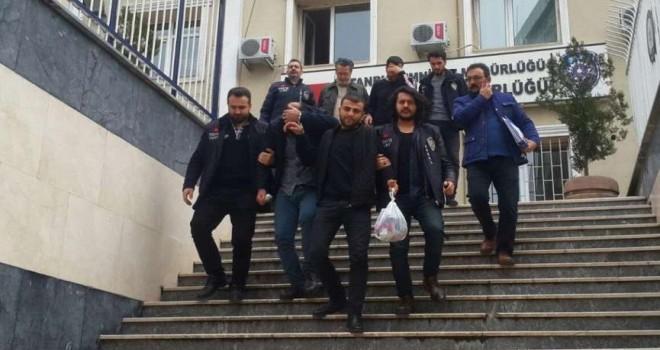 İstanbul'da 100 bin dolarlık gasp