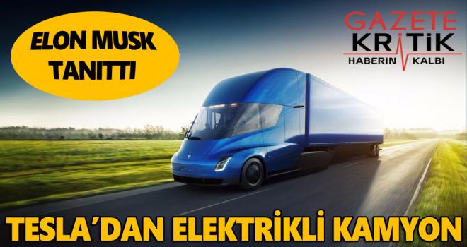 Elon Musk yeni aracını tanıttı
