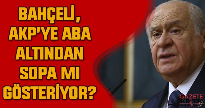 Selvi: İlginç olanı Bahçeli'nin AK Parti'ye aba altından sopa göstermesiydi