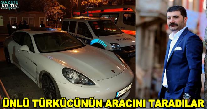 Türkücü Gökhan Doğanay'ın bulunduğu araca silahlı saldırı