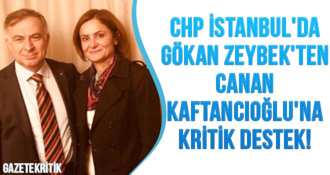 CHP İSTANBUL'DA GÖKAN ZEYBEK'TEN CANAN KAFTANCIOĞLU'NA KRİTİKT DESTEK!