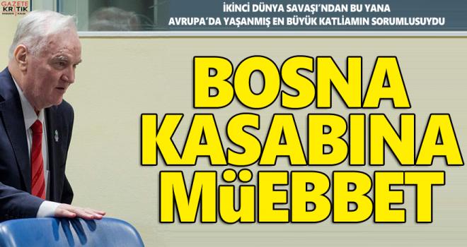'Bosna kasabı' suçlu bulundu