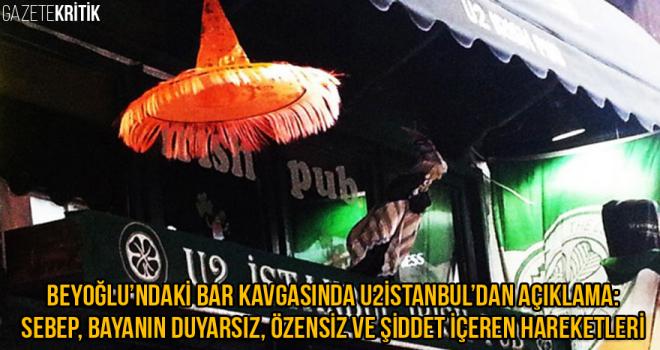 Beyoğlu'ndaki bar kavgasında söz mekanın: Sebep, bayanın duyarsız, özensiz ve şiddet içeren hareketleri