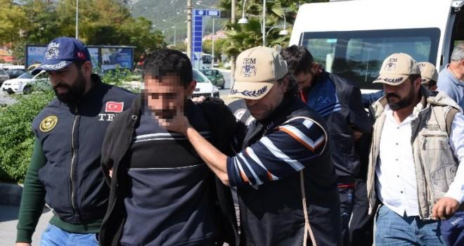 Muğla gözaltılarının tamamı tutuklandı