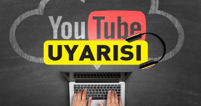 YOUTUBE UYARISI