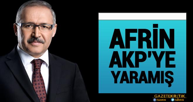Abdulkadir Selvi 'Afrin AKP'ye yaradı' dedi: Son anketler bunu gösteriyor...