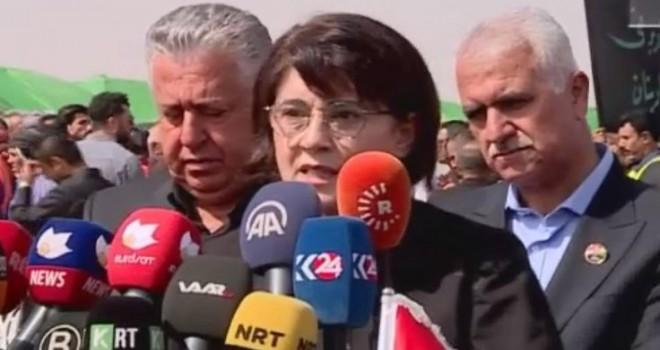 Leyla Zana: Kürtlerin önündeki bütün kapıları Talabani açtı