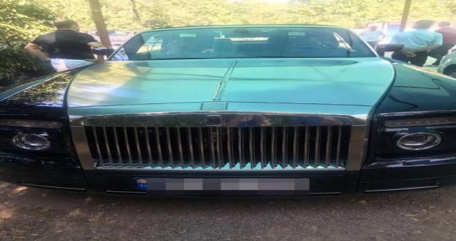 Milyarder iş adamının oğluna ait otomobil haczedildi