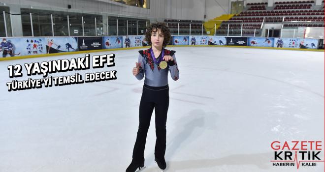12 yaşındaki Efe uluslararası arenada