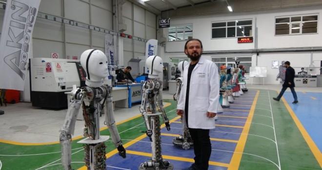 Türkiye'nin ilk 'insansı robot fabrikası' üretime geçti
