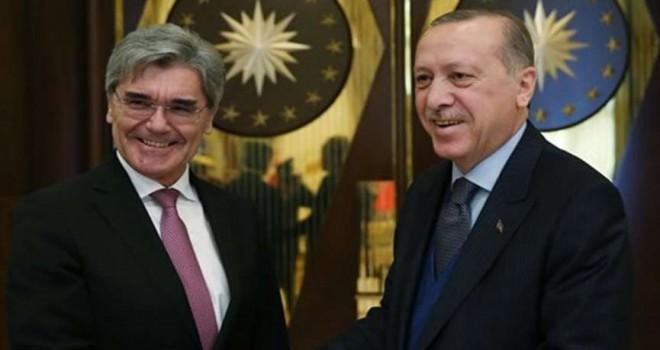 Siemens CEO'su Kaeser Cumhurbaşkanlığı Külliyesinde