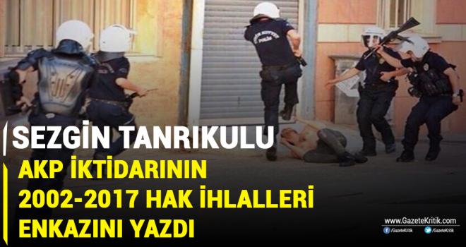 CHP'li Sezgin Tanrıkulu, AKP iktidarının 16 yıllık hak ihlalleri enkazını kitaplaştırdı