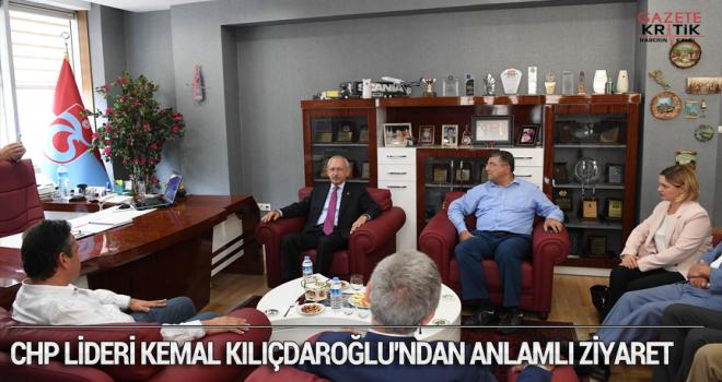 CHP LİDERİ KEMAL KILIÇDAROĞLU'NDAN ANLAMLI ZİYARET