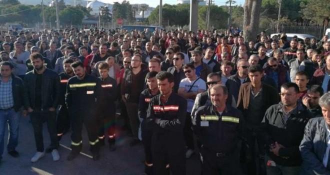 Tüpraş'ta işçilere iş bırakma çağrısı