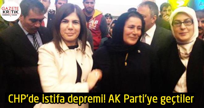 CHP'de istifa depremi! AK Parti'ye geçtiler