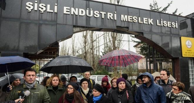 Şişli'de velilerin prefabrik isyanı