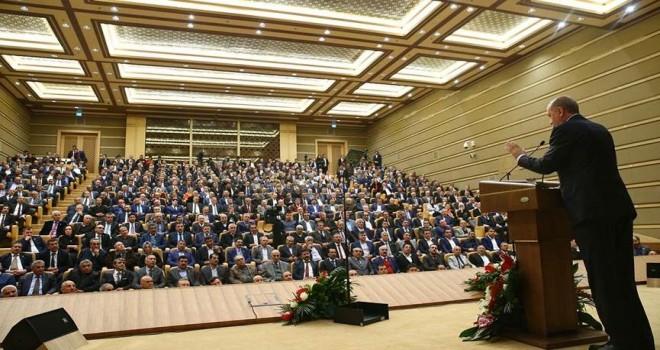 500 kişilik salonda 46. toplantı