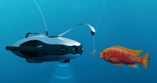Sualtı Drone'uyla balık tutma dönemi