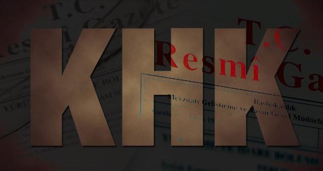Son KHK ile görevden alınan ve göreve iade edilenlerin tam listesi… (Resmi Gazete KHK listesi)