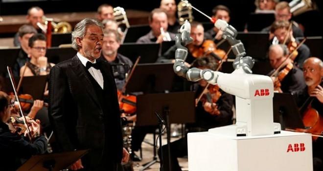 Yapay zeka orkestra yönetti
