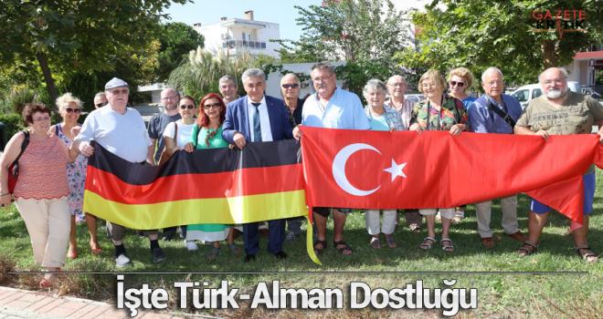 İşte Türk-Alman Dostluğu