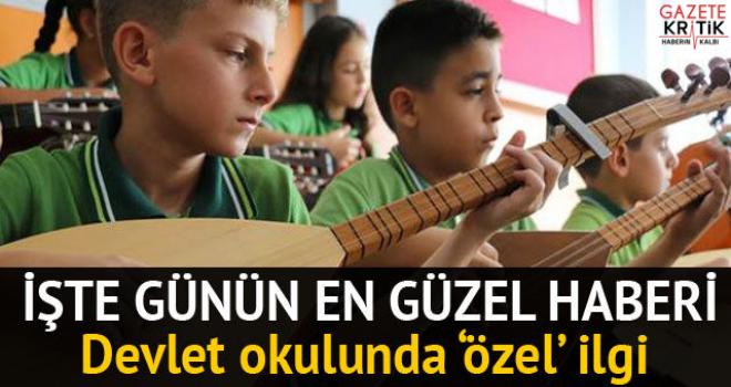 Bu sınıfta herkes en az iki enstrüman çalabiliyor