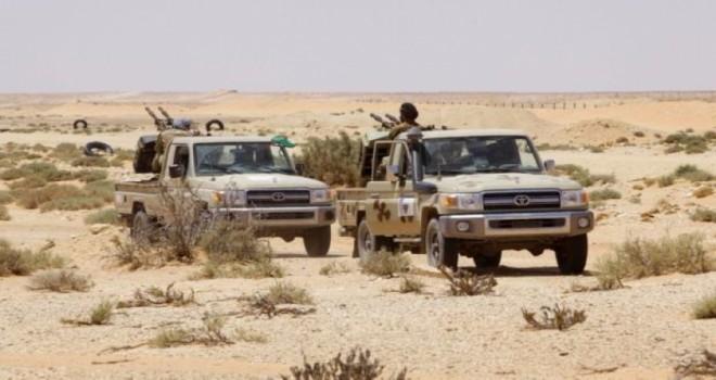 Irak Ordusundan Çölde IŞİD operasyonu