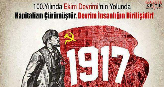 Ekim Devriminin 100. Yılında : Kapitalizm Çürümüştür, Devrim İnsanlığın Dirilişidir Sempozyumu