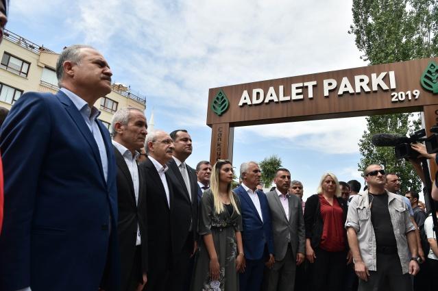 ADALET PARKI AÇILIŞ TÖRENİ