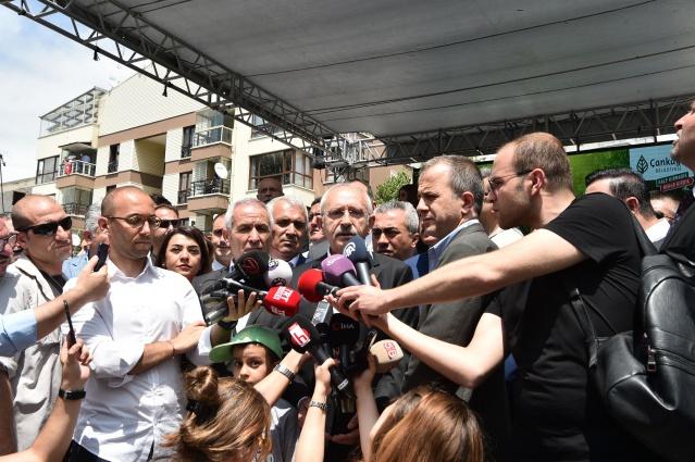 CHP Genel Başkanı Kemal Kılıçdaroğlu,Çankaya Belediyesi Tarafından yapılan Adalet Parkı Açılış töreninde konuştu.