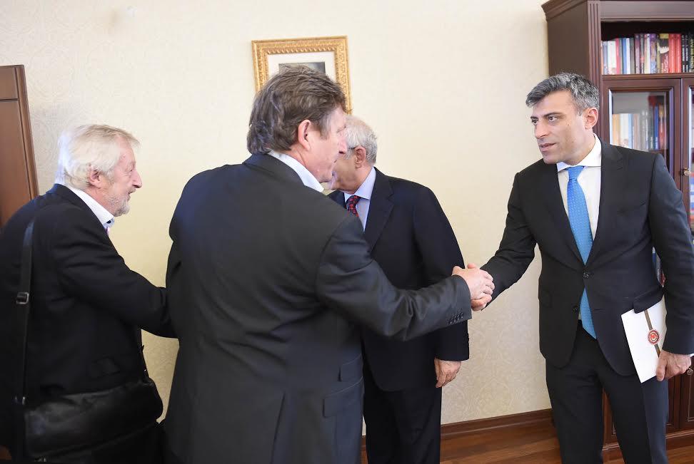 Avrupa Sendikalar Konfederasyonu Kemal Kılıçdaroğlu'nu Ziyaret Etti