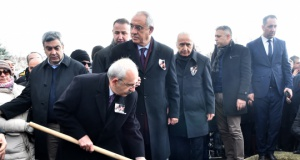 CHP GENEL BAŞKANI KEMAL KILIÇDAROĞLU, RAHŞAN ECEVİT'İ SON YOLCULUĞUNA UĞURLADI