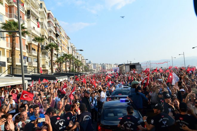 İnce İzmir'de!..