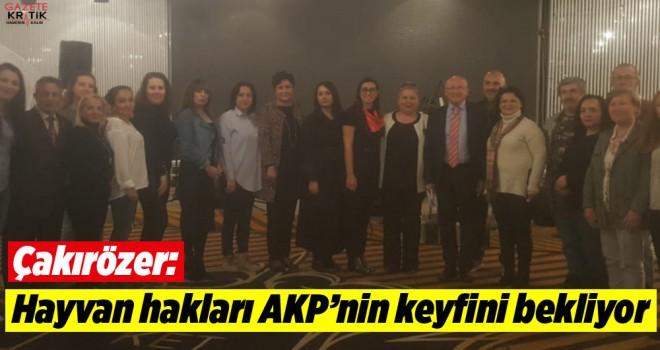 CHP'li Çakırözer hayvan hakları savunucularına Meclis'teki mücadeleyi anlattı