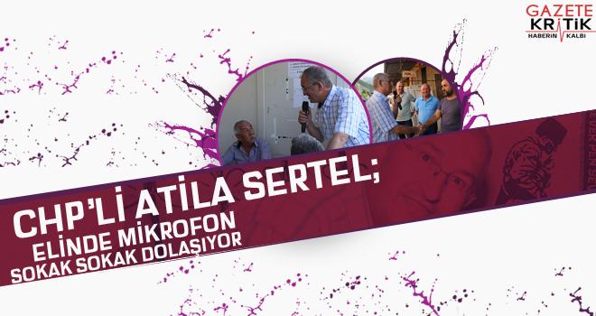 CHP'li Sertel: Üretenin cezalandırılmadığı bir ülke olacağız