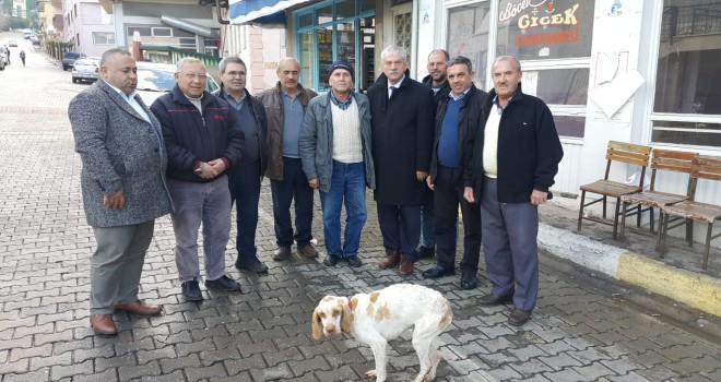 İlçe ziyaretleri yapan CHP'li Beko, grevi değerlendirdi:  İZBAN grevi politiktir!