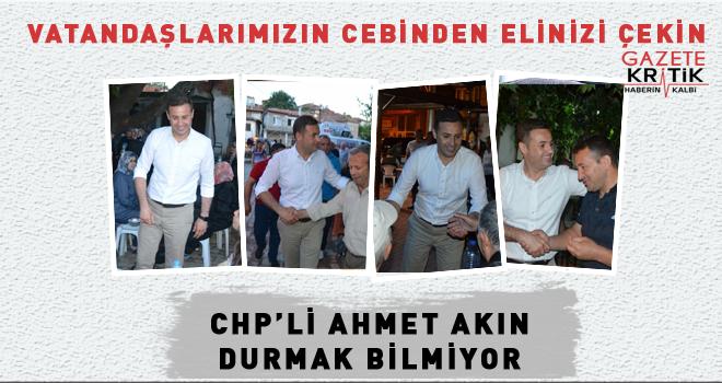 CHP'li Ahmet AKIN: VATANDAŞLARIMIZ BAYRAM ALIŞVERİŞİNE ÇIKAMIYOR