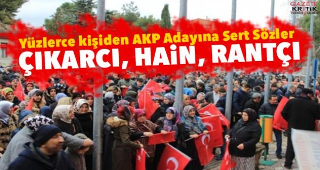 AK Partili başkan YENİDEN ADAY GÖSTERİLMESİN DİYE yüzlerce kişi toplandı