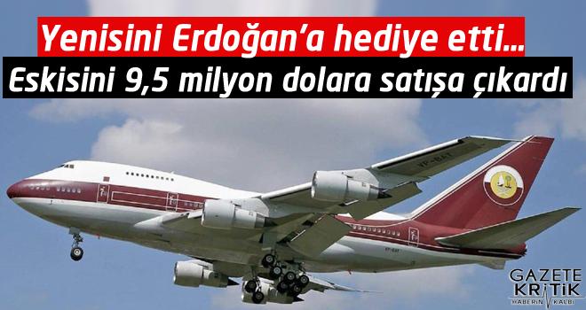Yenisini Erdoğan'a hediye etti… Eskisini 9,5 milyon dolara satışa çıkardı