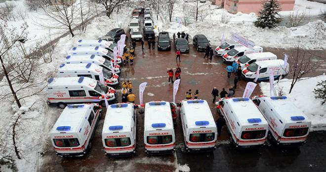 Sağlık Bakanlığı'ndan Bitlis'e 16 ambulans