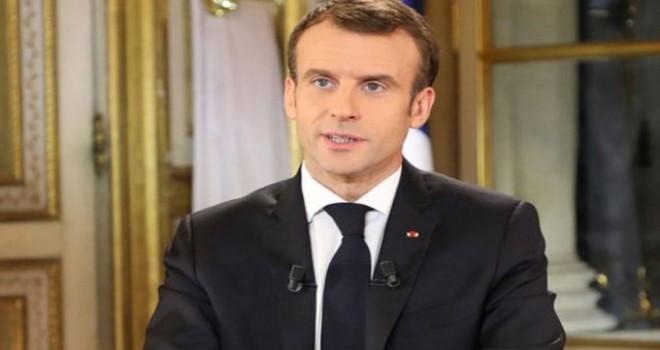 Macron sarı yelekli eylemleri nedeniyle Davos'a katılmayacak