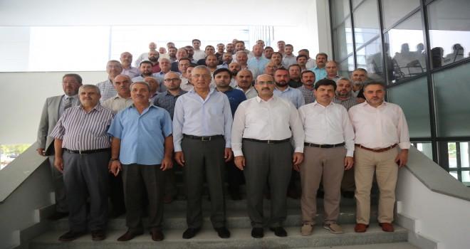Mezitli Müftülüğü Mezitli Belediyesi'nde toplandı