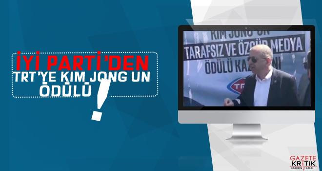 İYİ Partili Ümit Özdağ'dan TRT'ye 'Kim' ödülü