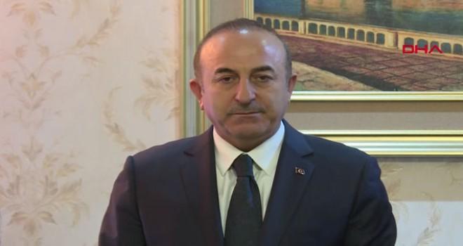 Bakan Çavuşoğlu: Teröristleri temizlememize kimse engel olamaz